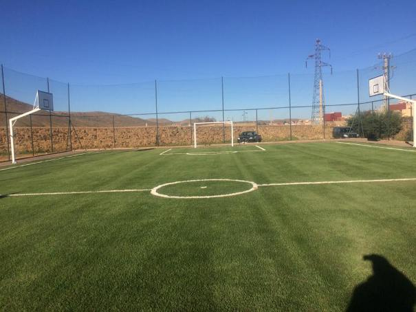 افتتاح ملعب للقرب بمدينة مريرت